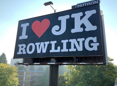 There was nothing wrong with Canada's J.K. Rowling billboard