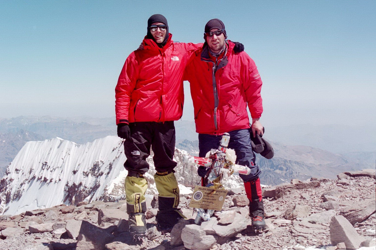 Doug and myself on the summit of Aco