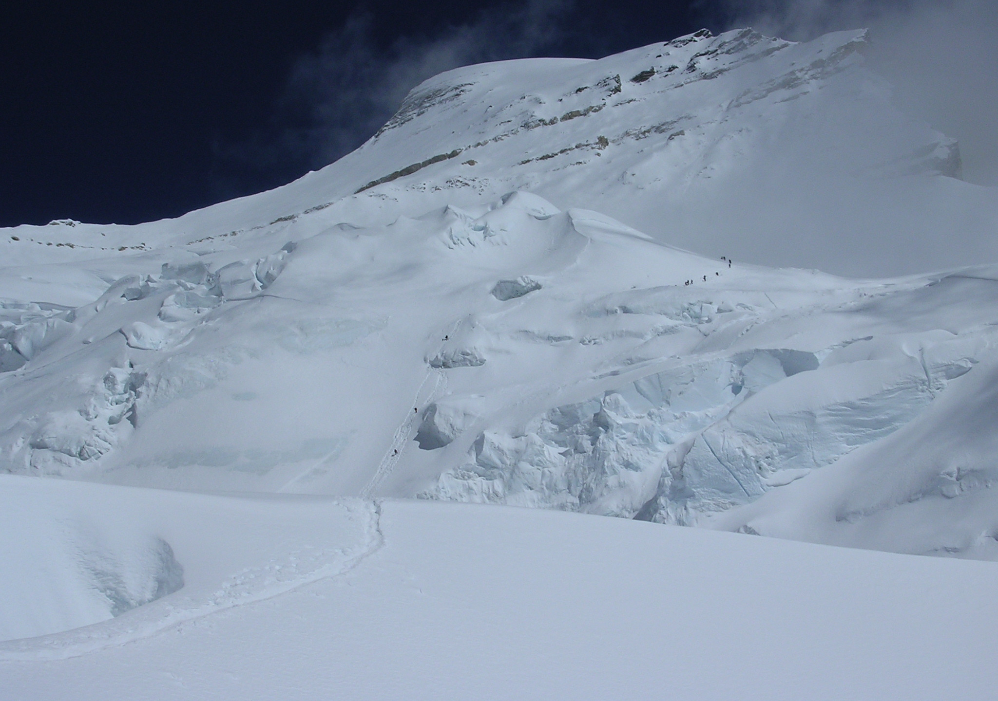 The route to camp 2