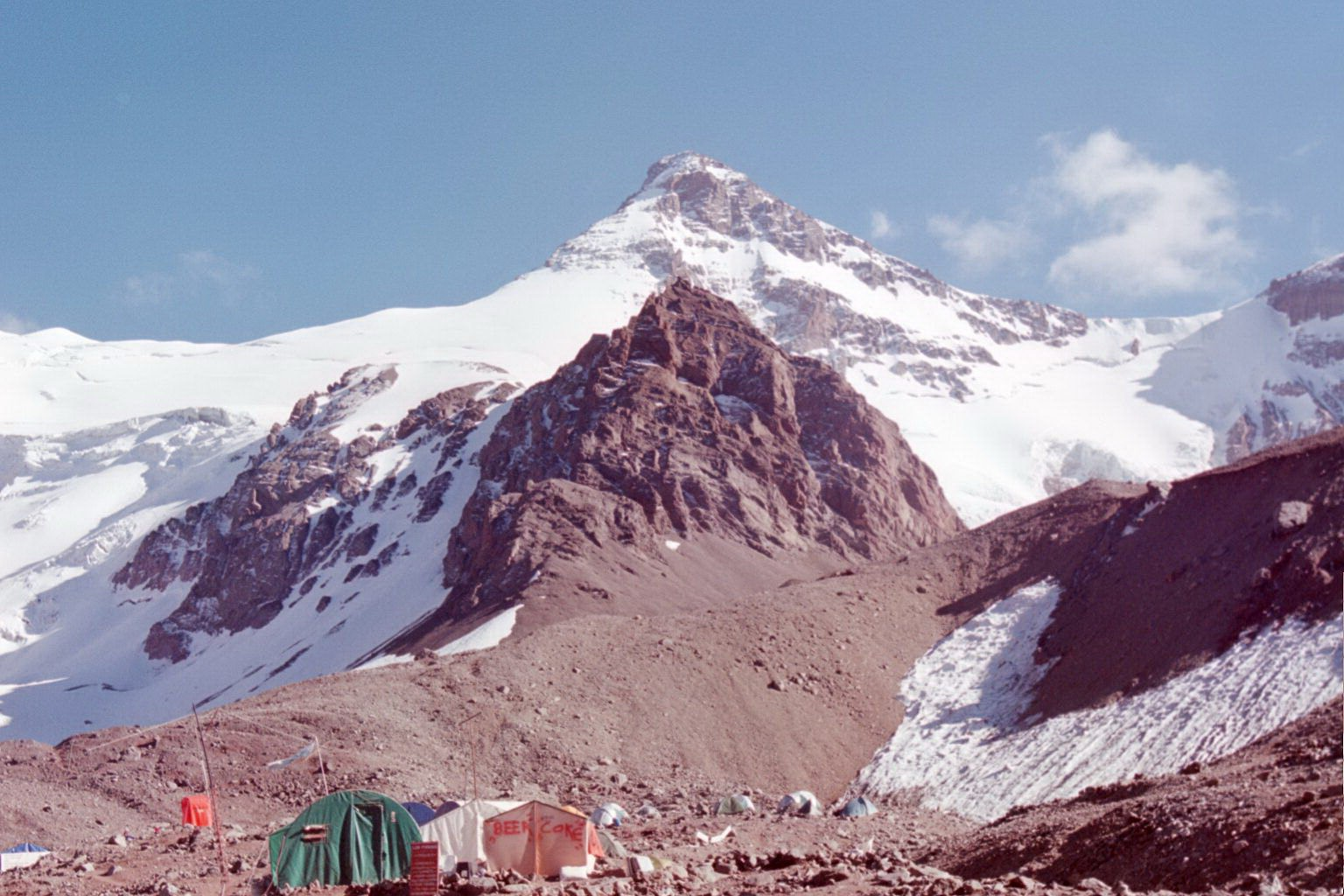 Aconcagua from basecamp