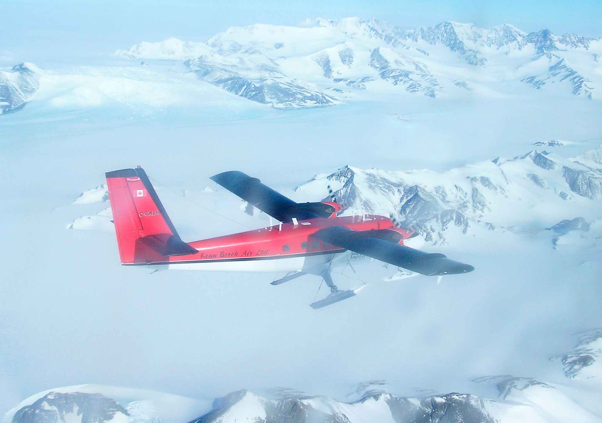 Twin otter to basecamp