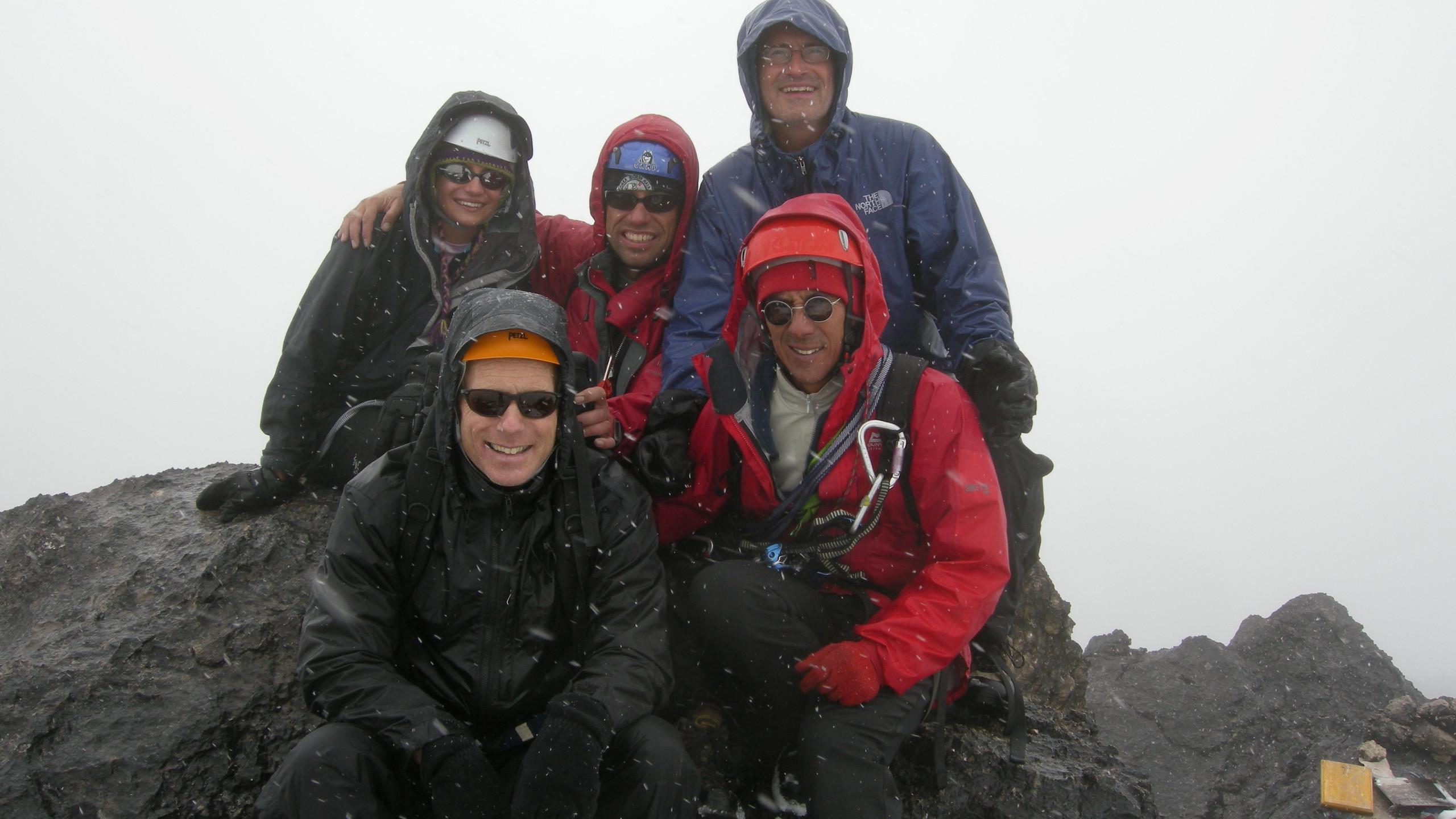Carstenz Pyramid summit