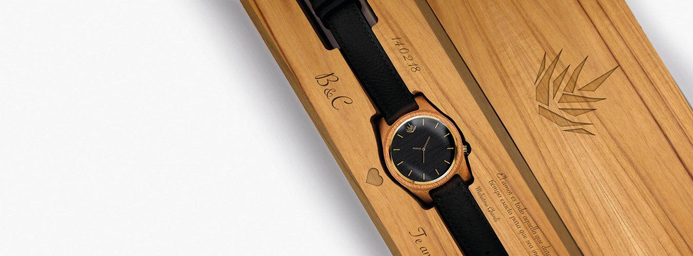 cf4174d16651 Relojes de madera personalizados