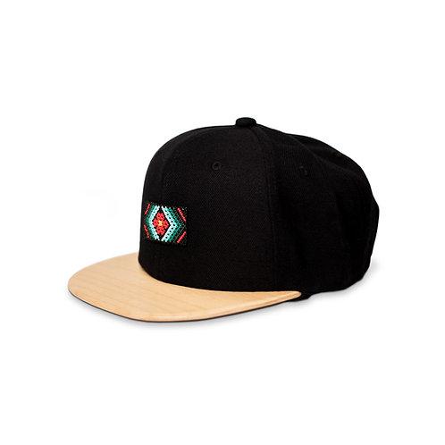 Gorra negra / Maple del  Pacífico - Wixárika