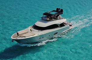 2018 Monte Carlo Yachts MCY 65 Underway.
