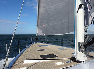 RSC 1900 Foredeck Underway by David Grec