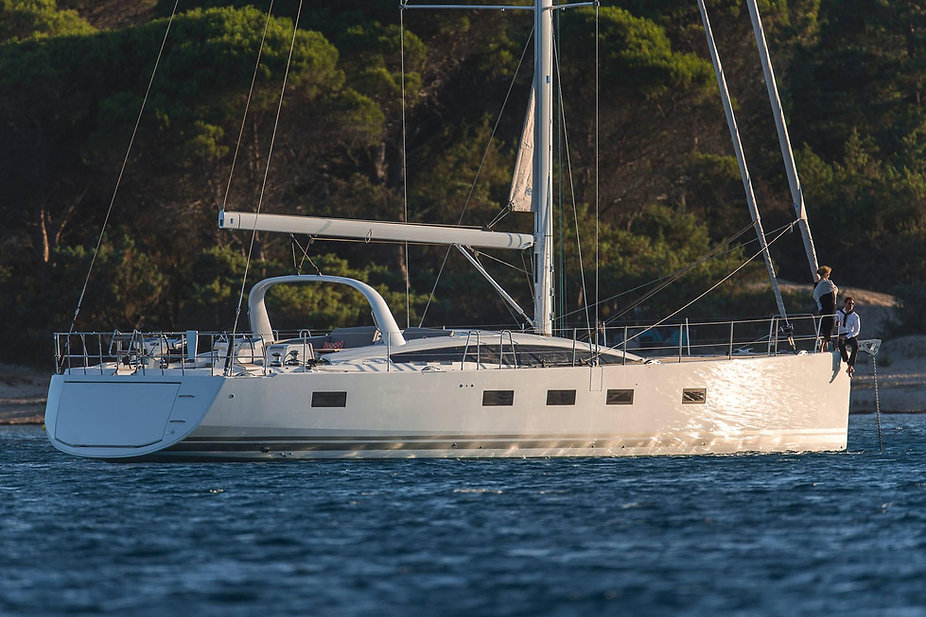 Jeanneau 64 At Anchor by David Greco (30