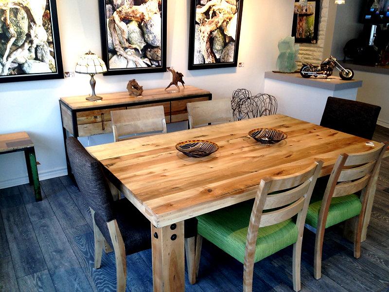 le filon d'art | salle À manger loft