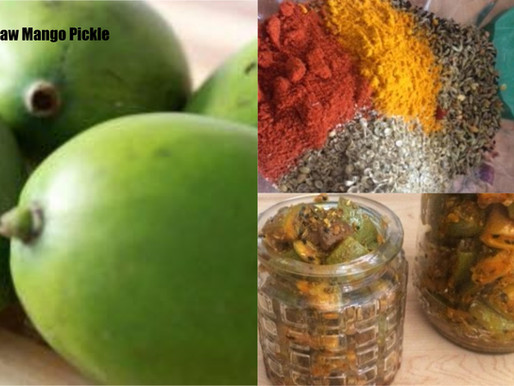 Panch Foran [five spices] mango Pickle-