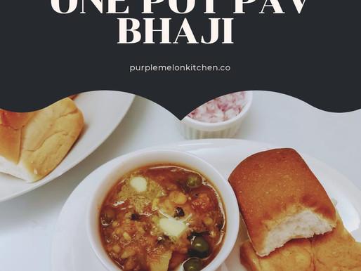 Instant Pav Bhaji - Pav Bhaji under 30 Minutes