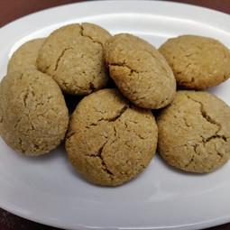 Rajgira Coconut Cookies