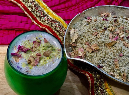 Home made Thandai Spice mix Powder