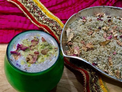 Home made Thandai Spice mix Powder