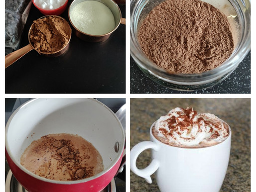 Creamy Homemade Hot Chocolate Premix