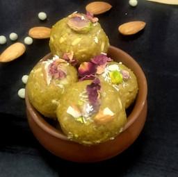Dry Green Peas laddoo