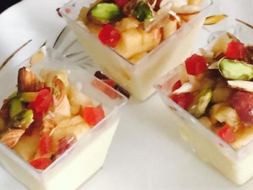 Apple Pudding: