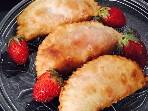 Healthy baked Fruity Gunjia-[Karanji]