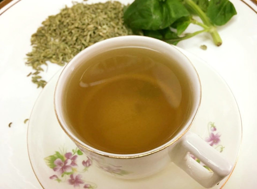 Herbal fennel Basil Tea