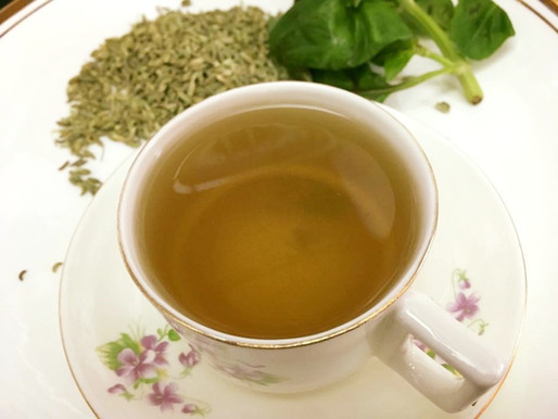 Herbal fennel Basil Tea