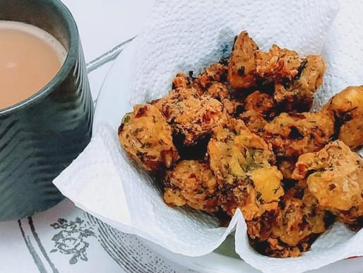 Raw banana Bhajia