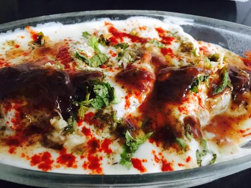 Instant bread dahi vada/dahi Gunjia
