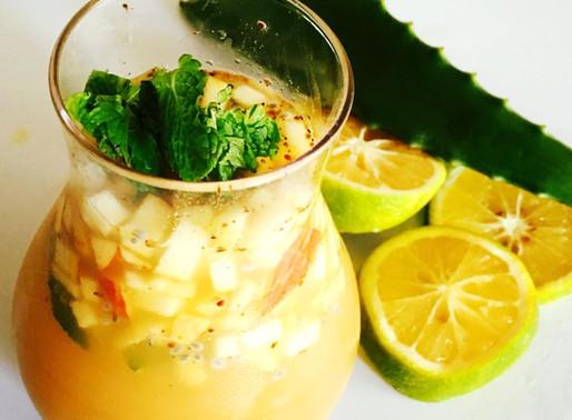 Ginger Litchi Lemonade