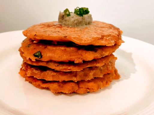 Non-Fried Corn Fritters: