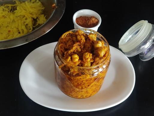 Chana Aam ka Achar[Chicpea Mango pickle]