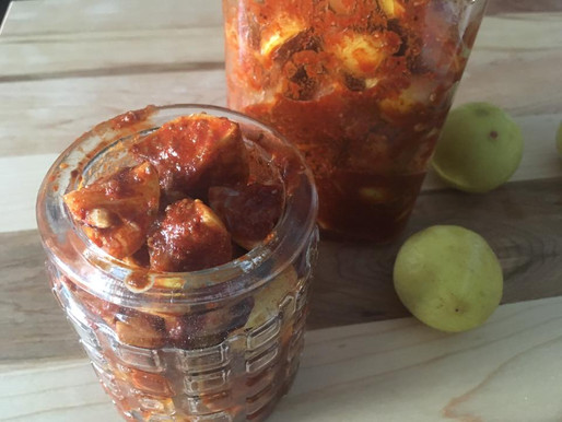 Sweet and tangy Lemon pickle-