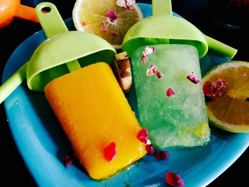 Fruity Popsicle-