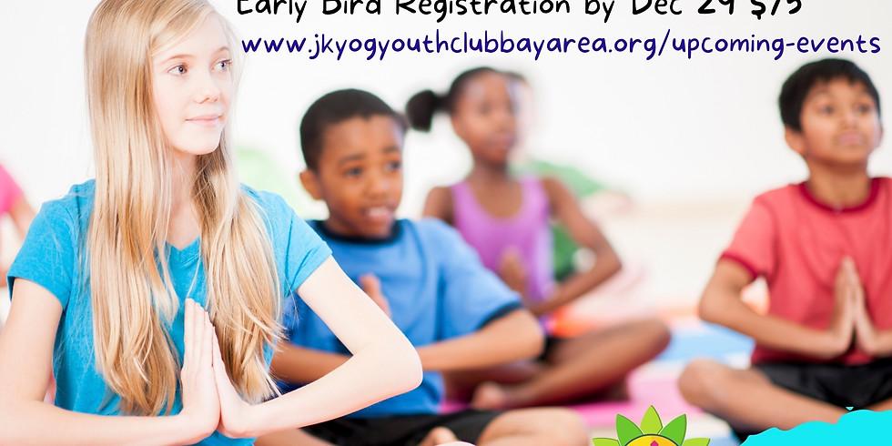 Youth Yoga Camp Dec 26-30, 2020 - Awaken Your Inner Warrior