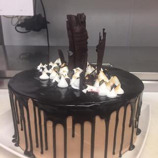 Chocolate Ganache & White Chocolate