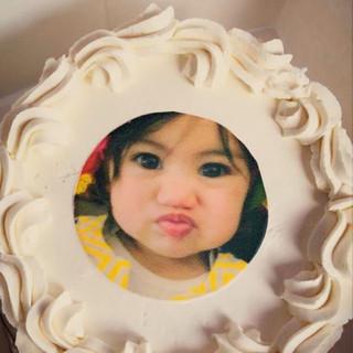 Baby Face Smash Cake
