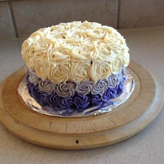 Hombre Rossette Cake