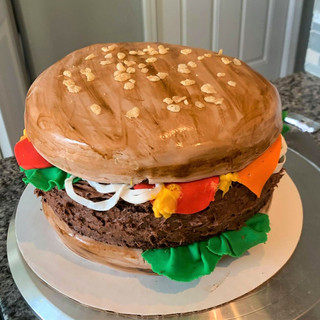 Cheese Burger Cake