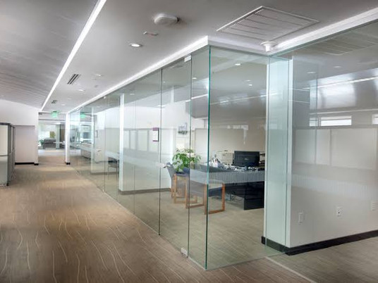 Glass Office Partitions | Request A Booking Online