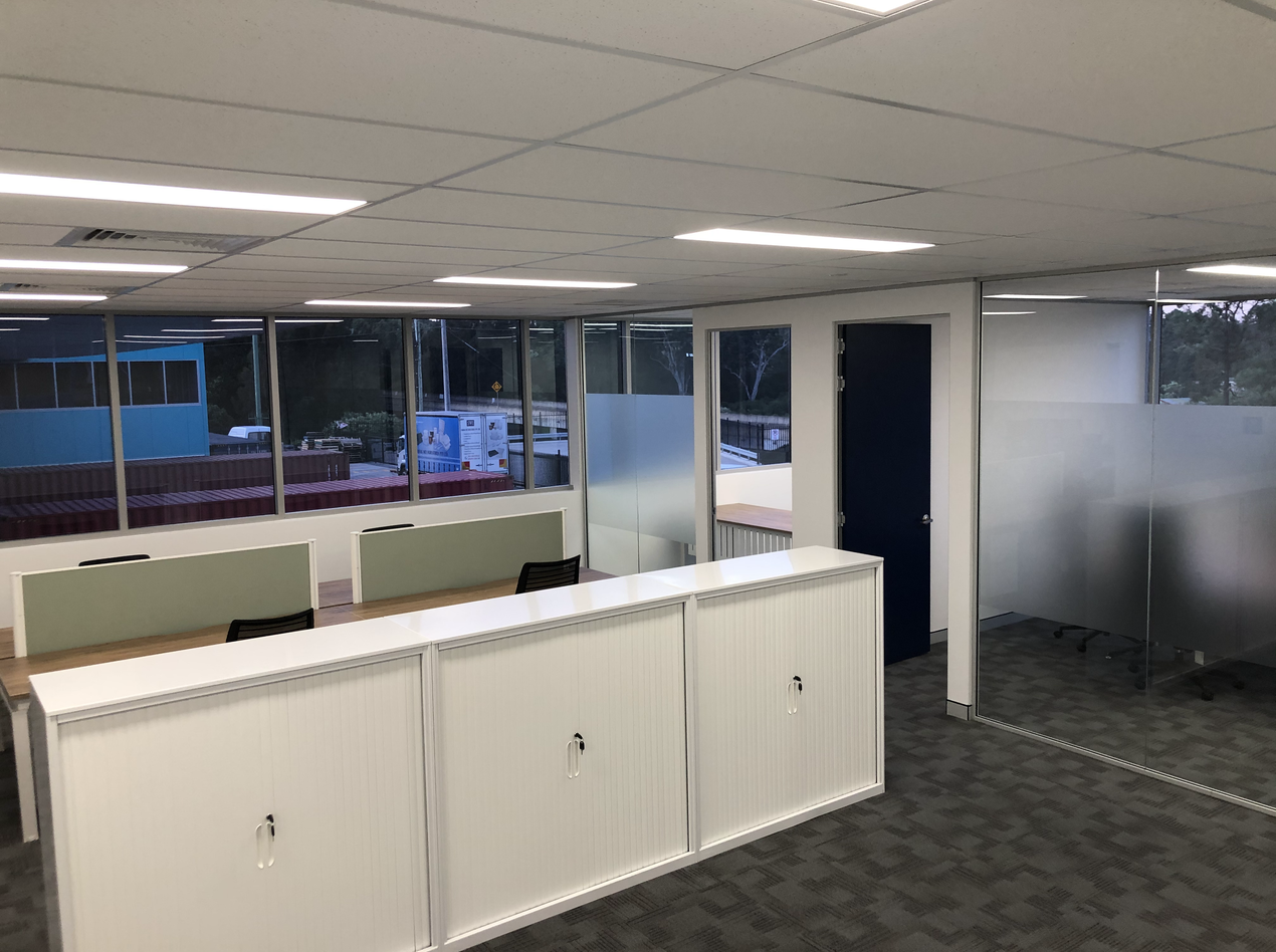 View of Office Layout for fit out in Sydney
