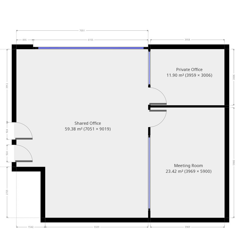 Initial Office Fit Out Plan Measure Up