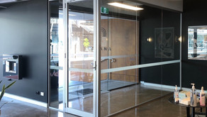 Project   COVID Safe Entry Bubble   Soundproof Glass Partition