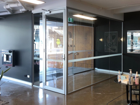 Project | COVID Safe Entry Bubble | Soundproof Glass Partition