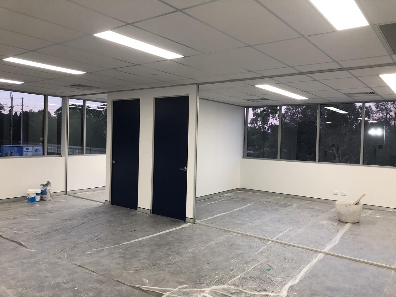 Office Partition Glass Measurements Check