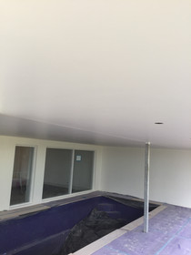 Villaboard Ceiling over swimming pool