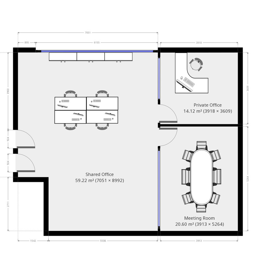 Draft Office Fit Out Plan Proposal