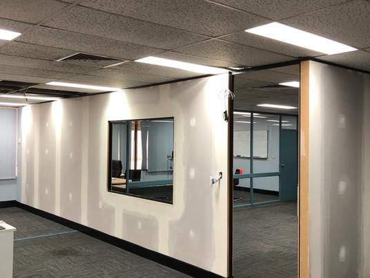 Project: Small Office Partition | Sydney
