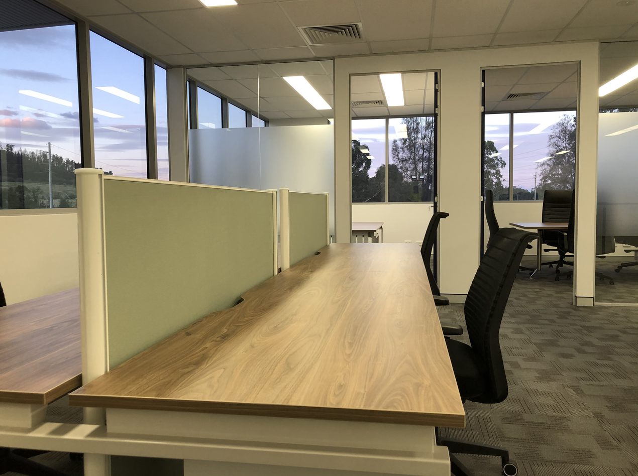 4 Way Office Workstation in Sydney