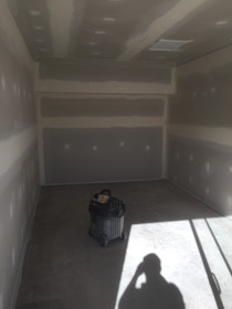 Garage Conversion with Plasterboard