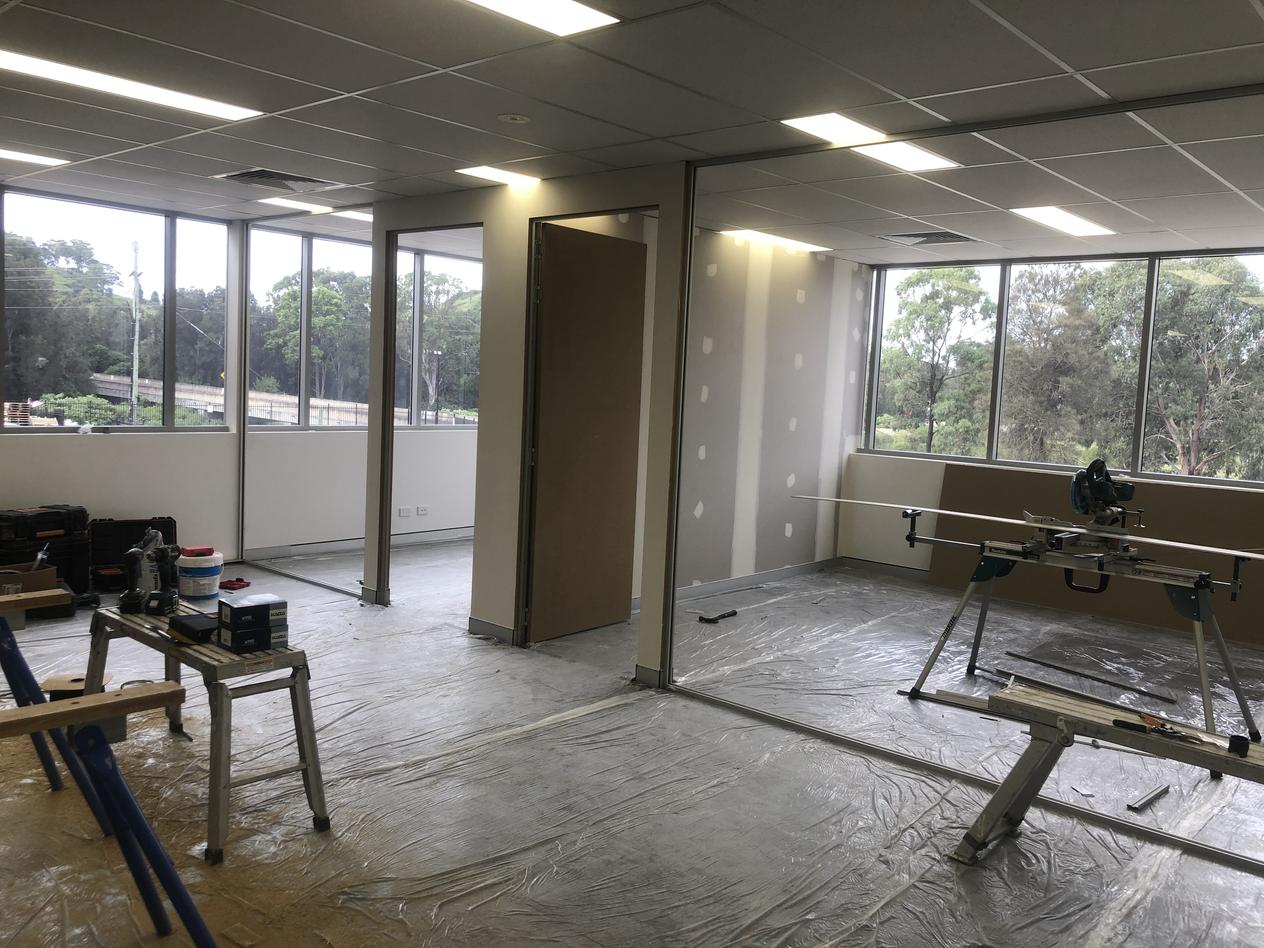Office Doors Installed