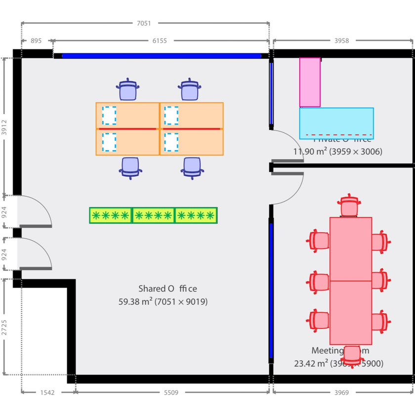 Final Office Fit Out Plan Propsal