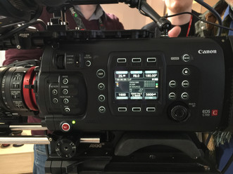 Unveiling the Canon C700