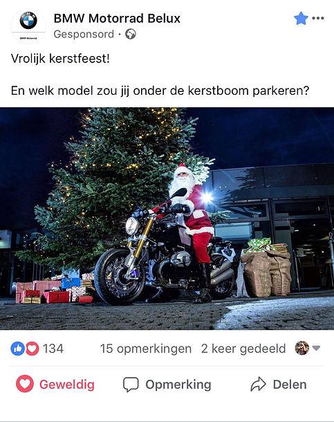 BMW Motorrd Belux_Kerst